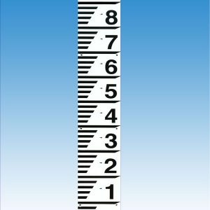 Water-depth-level-gauge-board-039H2O