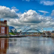 August - The glorious NewcastleGateshead Quayside by Steve Ellwood